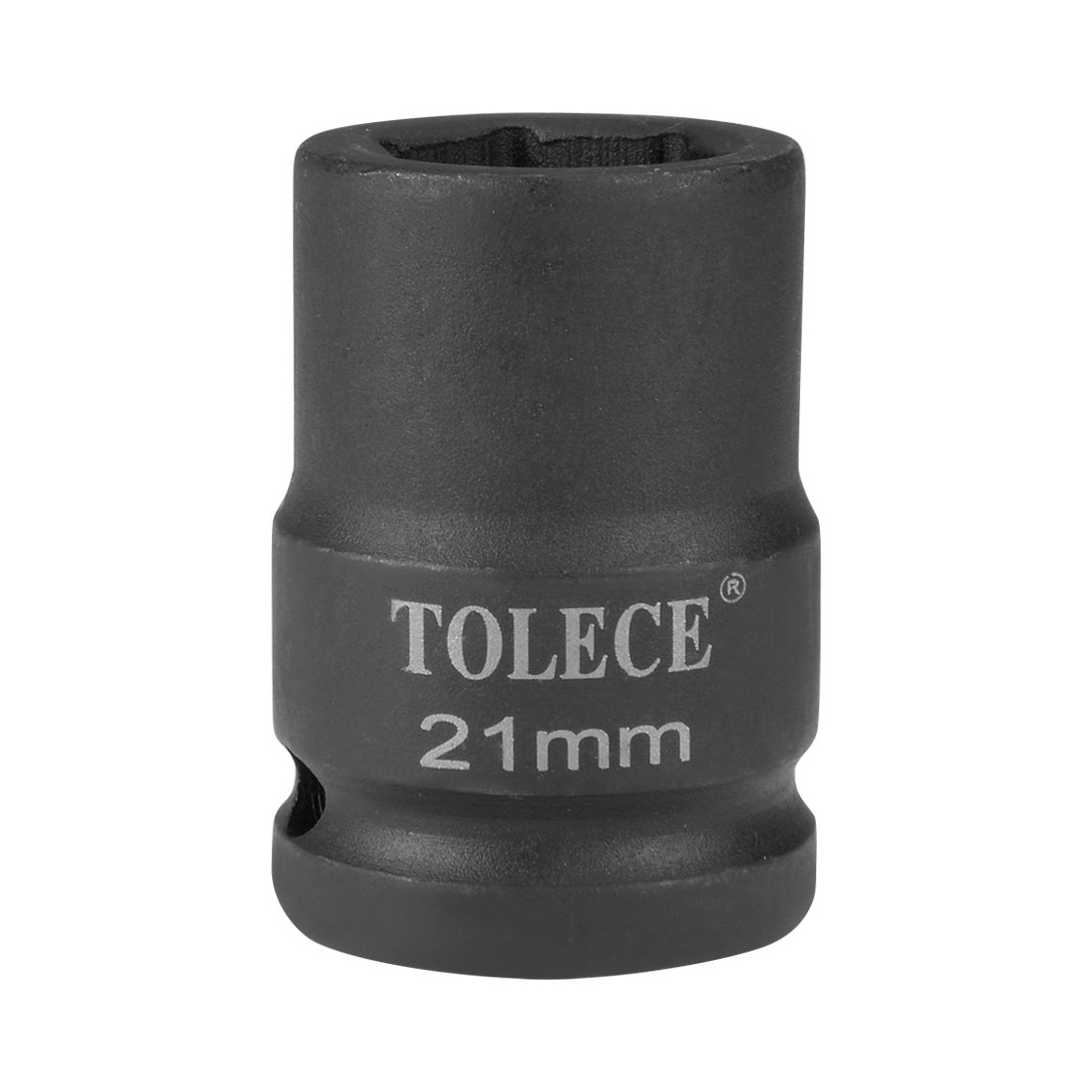 uxcell 3/4-inch Drive 21mm 6-Point Shallow Impact Socket, Cr-Mo Steel