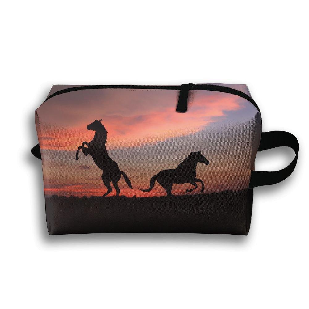 流行に  Rong Fa B07DDG7XM9 Fa 3d馬パターンポータブル旅行メイクアップバッグ、ストレージバッグポータブルレディースTravel Square Cosmetic Bag Bag B07DDG7XM9, Tokyoキッチンウェア:ad441d46 --- svecha37.ru