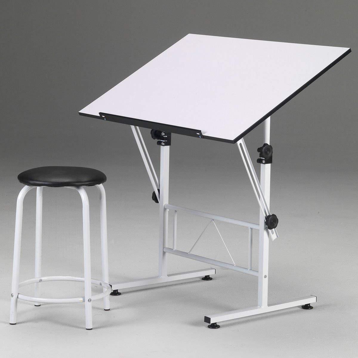 Martin Universal Design Smart Hobby Table, White,