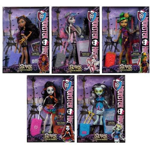 Monster High Scaris Deluxe Travel Dolls Wave 2 Rev. 1 Case by Mattel ()