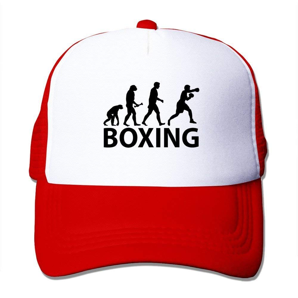 Nifdhkw Gorra Entallada Evolución del Boxeo Multicolor35: Amazon ...