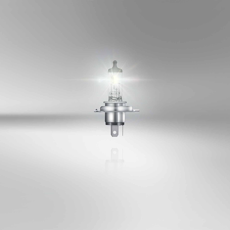 64193MC 12V OSRAM ORIGINAL H4 1 St/ück Halogen-Scheinwerferlampe Faltschachtel