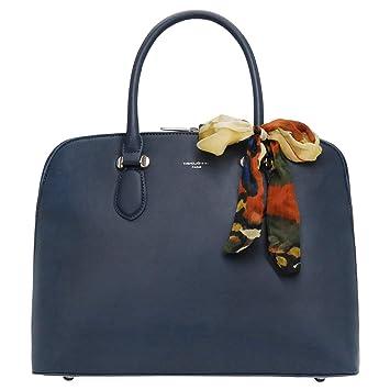 253640cfd555e David Jones - Damen Große Bugatti Handtasche - Tote Henkeltasche PU Leder -  Shopper Bowling Bag
