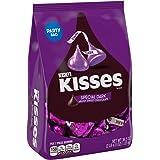 Hershey's Kisses Dark Chocolate Candy, 36.5 Ounce Bulk Candy