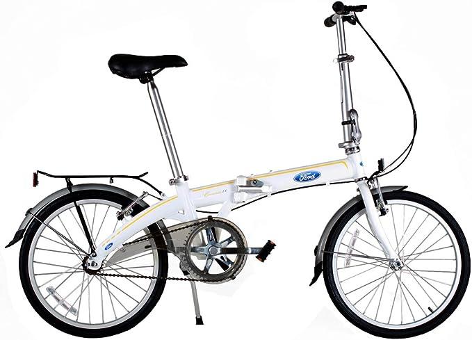 Ford by Dahon - Bicicleta Plegable de una Sola Velocidad ...