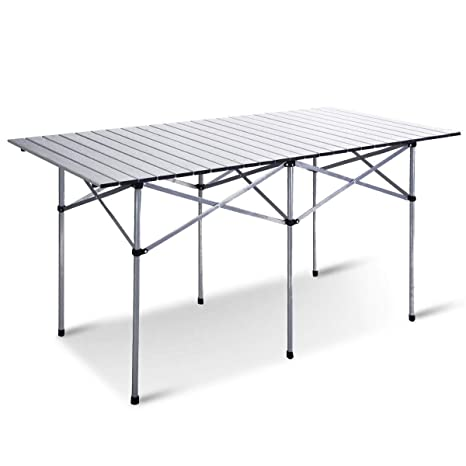 Amazon.com: Aluminum Roll Up Folding Camping Rectangle ...
