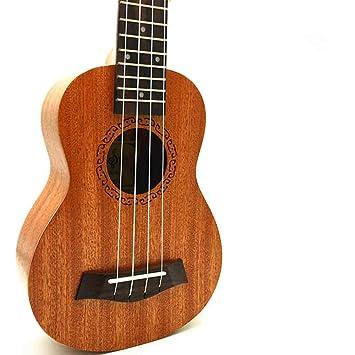 ZXZX Ukulele El Ukulele Concierto Soprano Tenor Ukulele Mini Guitarra Acústica Guitarra Eléctrica Ukelele Que Recoger: Amazon.es: Instrumentos musicales