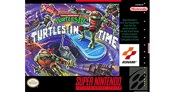 Amazon.com: Teenage Mutant Ninja Turtles IV: Turtles in Time ...