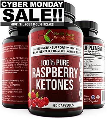* CYBER MONDAY * EXTREME 1200mg RASPBERRY KETONES BLEND – Green Tea – African Mango - & MORE - Raspberry Ketones Pure - Raspberry Ketones Weight Loss - Raspberry Ketones Max