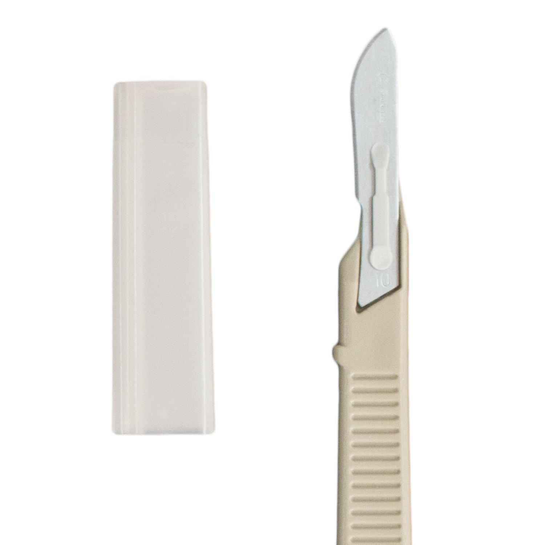 Dynarex 4110-B Disposable Scalpels, Sterile, Number 10, 10/bx (2 Pack)