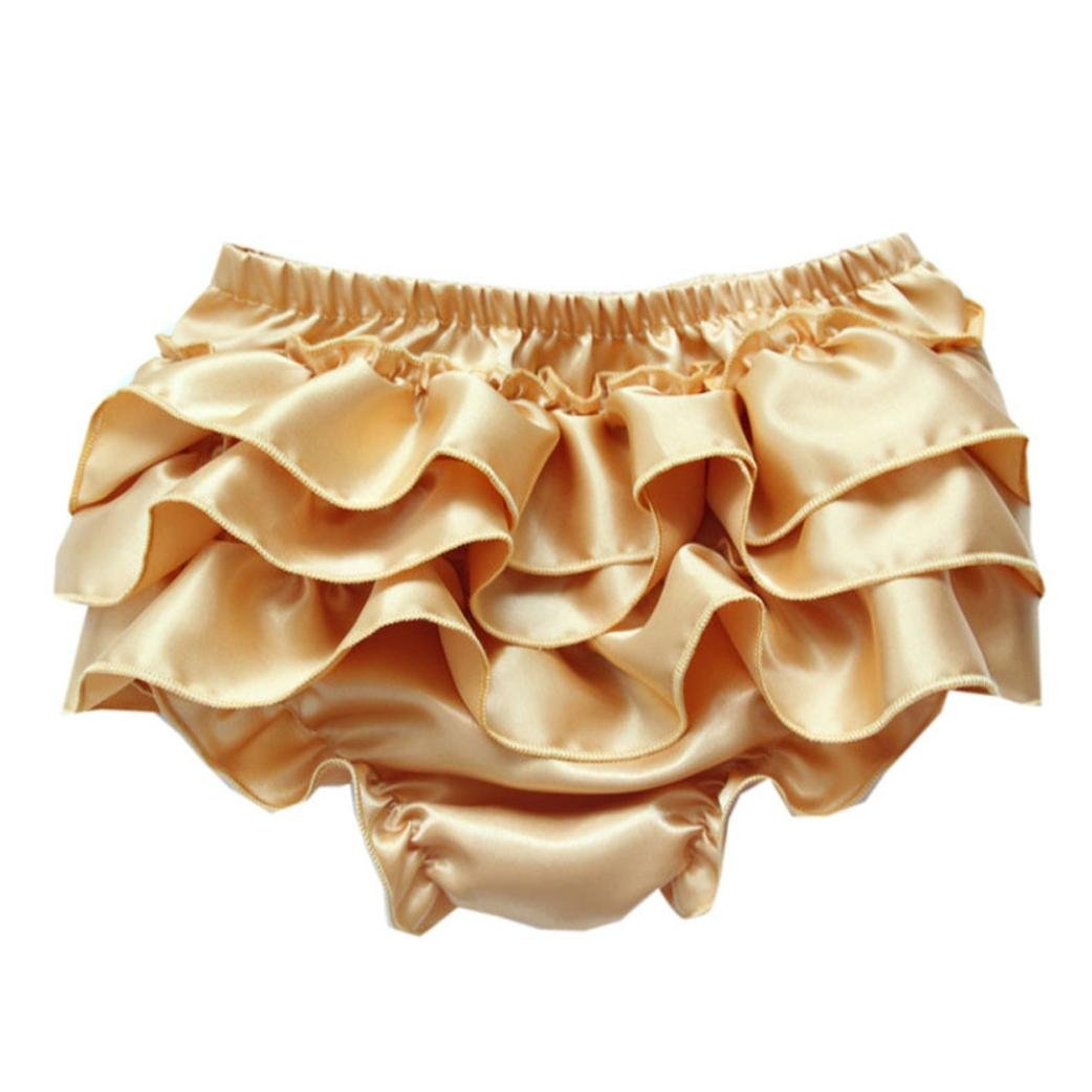 FALAIDUO for Baby Baby Xmas Shorts,Falaiduo Ruffle Bloomers Layers Flower Lace Toddler Satin Pants FALAIDUO0411