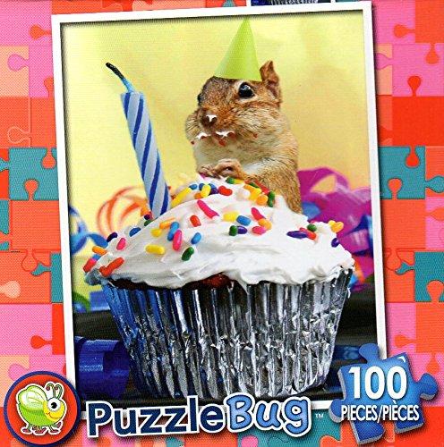 Chippyの誕生日カップケーキ – Puzzlebug – – 100 B079RN1Q1K Piece – Jigsaw Puzzle – v2 B079RN1Q1K, 水広場:46e877e2 --- ero-shop-kupidon.ru