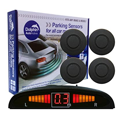 Red Auto Express Award Winning In 9 Colours Dolphin DMS400 Micro Size Reverse Parking Sensors