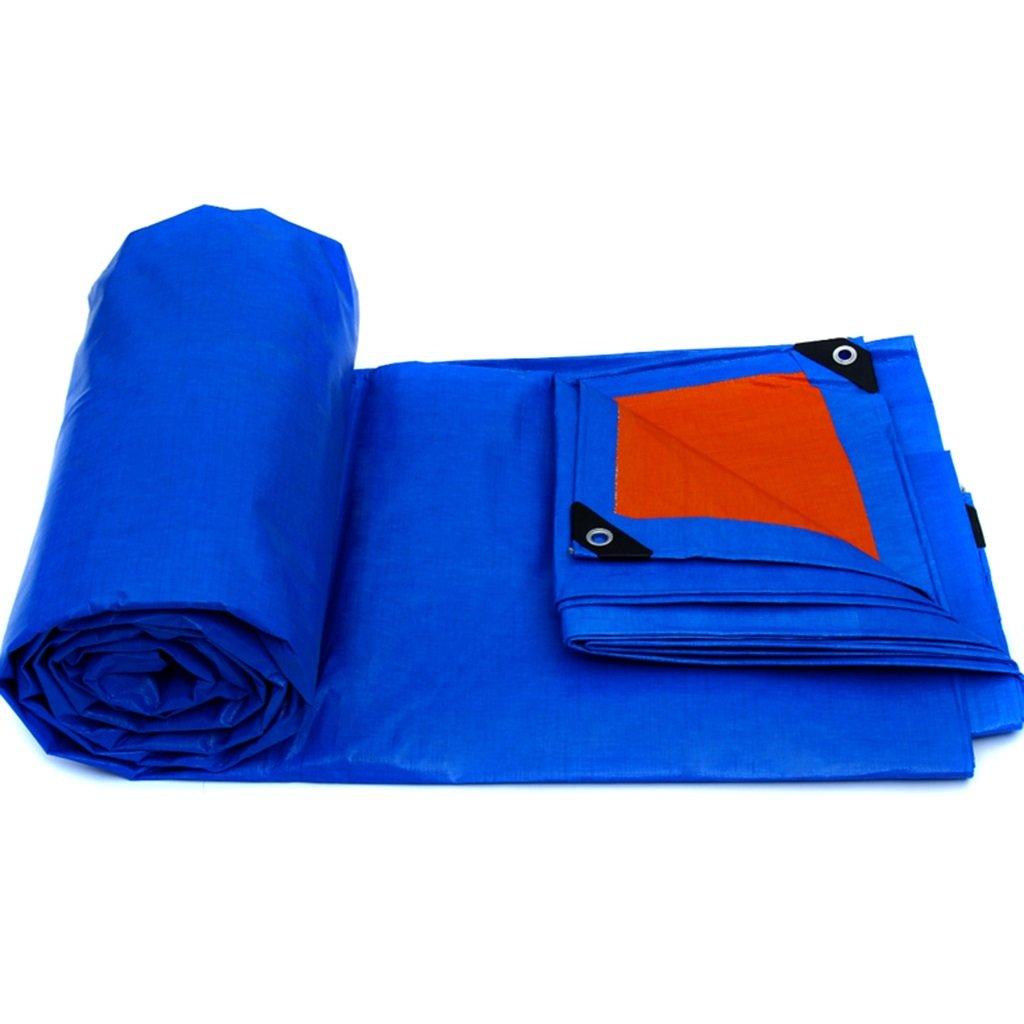 Tende per Eventi e tendoni Ombrelloni tett Tela impermeabilizzante Antipioggia per Parabrezza Antipioggia Resistente alla Pioggia e alla Pioggia (Colore   blu, Dimensione   4m×3m)