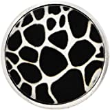 Andante bouton pression CHUNK (zèbre) pour bracelets Chunk, bagues Chunk et d'autres accessoires Chunk