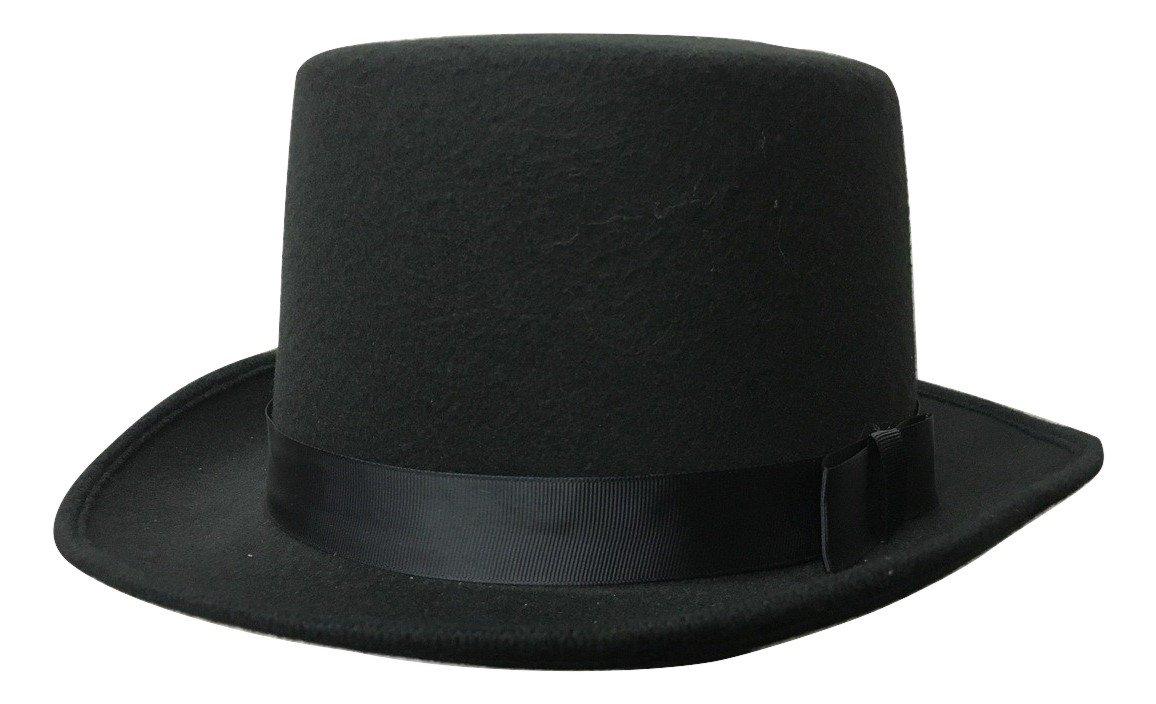 Deluxe Felt Black Top Hat