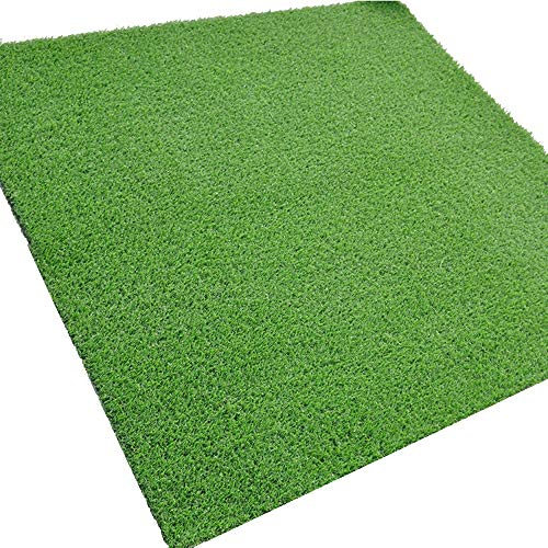 Artificial turf, Encryption Green Glue Artificial Grass Mat,for Garden/Balcony/Basketball Field Synthetic Grass Mat, Grass Height 0.4in (1CM), Army Green (Size : 6.531ft)