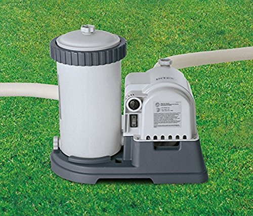 Intex 2500 Gph Filter Pump Amp Krystal Clear Saltwater Pool