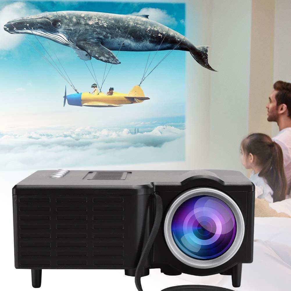 Powerlift Proyector portátil Mini proyector de resolución 1920 x 1080 Cámara de vídeo de Alta definición LCD proyector de Cine en casa, 20.000 Horas de TFT LCD/USB/TF: Amazon.es: Electrónica