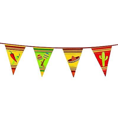 Guirlanda con banderines mejicanos: Juguetes y juegos