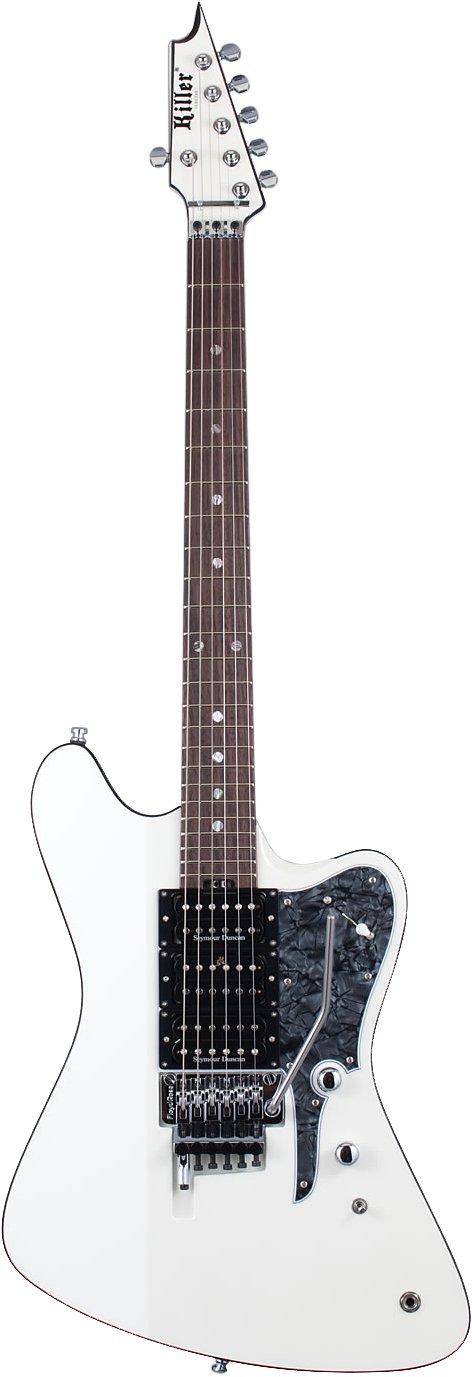 Killer キラー エレキギター ルーク篁シグネイチャーモデル KG-SPELLBIND (Pearl White) B075CYXP7G