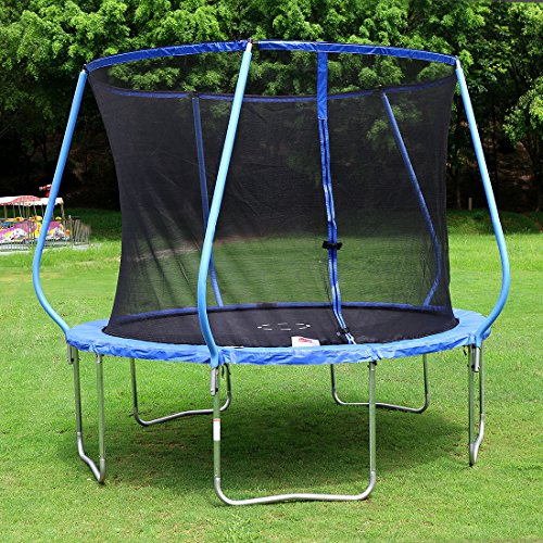 BestValue-GO-10-Feet-Round-Trampoline-with-Safety-Pad-Safety-and-Enclosure-Net