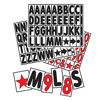 Amazon.com: Cartel para acera, conjunto de letras ...