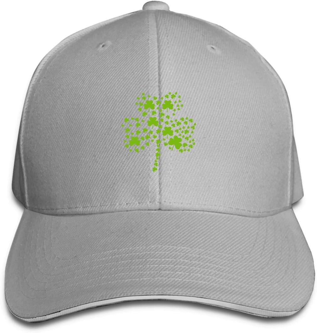 WFIRE Adult Baseball Caps Irish Clover Custom Adjustable Sandwich Cap Casquette Hats