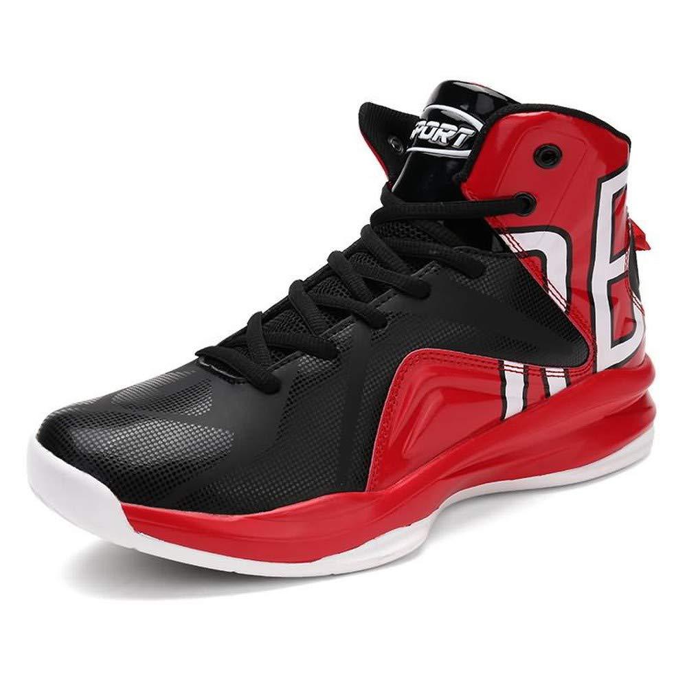Red 45 M EU BETIY Men's hightop Boots Large Size Basketball shoes