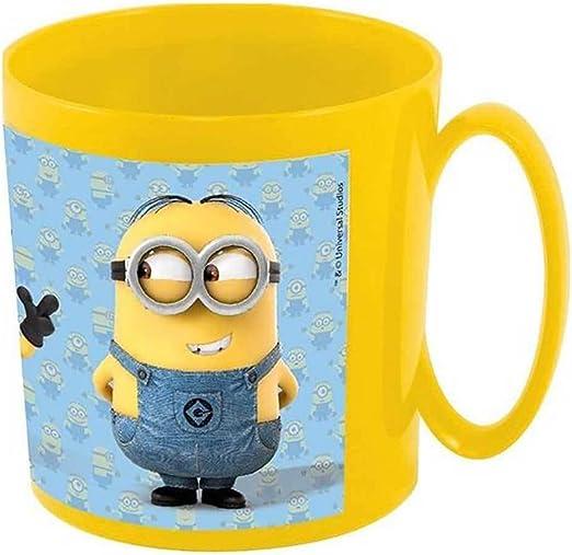 Taza / taza para la Microondas - Minions - Motivo: Stuart, Kevin ...