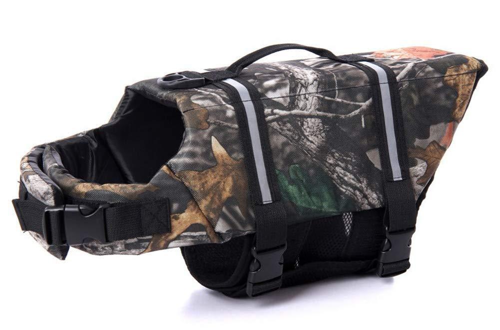 WLDOCA Lifejackets for Dogs,Small Dogs Pattern Dog Life Vest for Pets Float Coat for Dog Lifesaver Dog Life Vest,XL