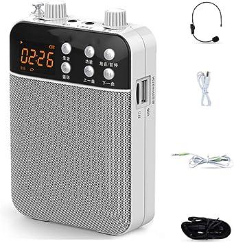 IQQI Amplificador De Voz, Cable/Soporte De MP3 De Grabación ...
