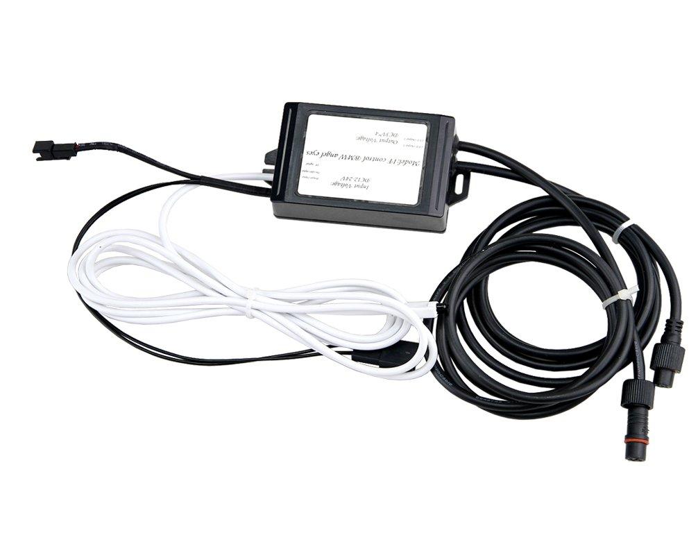 NEWSUN RGB con WiFi LED Angel Eyes de Halo anillo de luz de g/álibo LED bombillas para sed/án E90/E91/Wagon 3/Series