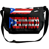 The Flag Of Puerto Rico Unisex Crossbody Single Shoulder Bag With Shoulder Girdle Cellphone Pouch Purse Wallet