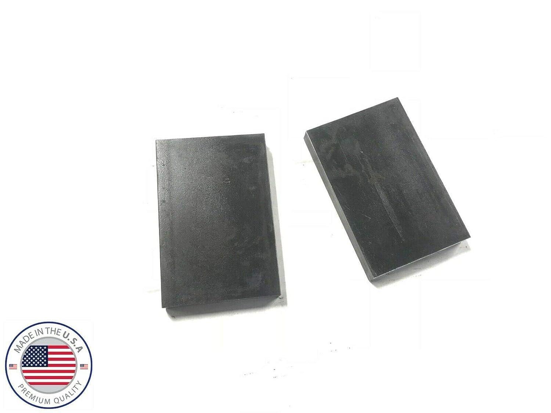 "20 Ton Steel Shop Press Bed Plates Parallels H-Frame Arbor 1/""X 3/""X 4/"" Set"
