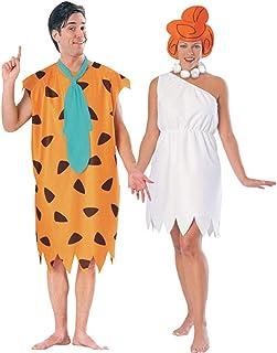 FutureMemories Fred And Wilma Flintstone Costume Set Sc 1 St Amazon.com  sc 1 st  Germanpascual.Com & Pebbles And Bam Bam Costume u0026 Sc 1 St Coolest Homemade Costumes