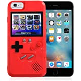 AOLVO Gameboy Case for iPhone, 3D Retro Handheld Game Console Video Game Cover Case with 36 Games, Full Color Display…