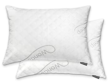 WonderSleep Premium Adjustable Loft Shredded Memory Foam Pillow