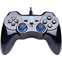 ZD-V+ USB Wired Gaming Controller Gamepad For PC(Windows XP/7/8/10) & PS3 & Android & Steam - [Black]