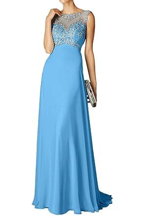 MILANO BRIDE Vogue Womens Maxi Evening Prom Dresses Backless Beadings A-line-2-