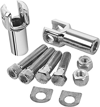 Foot Peg Footrest Supports Mounts Clevis Kits Fits For Harley Davidson Softail 2000-2006