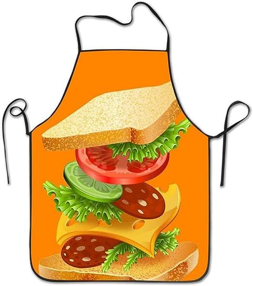 Delantales de cocina personalizados Tutorial premium Sandwich ...