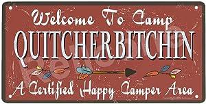UHVD Welcome to Camp Quitcherbitchin 12