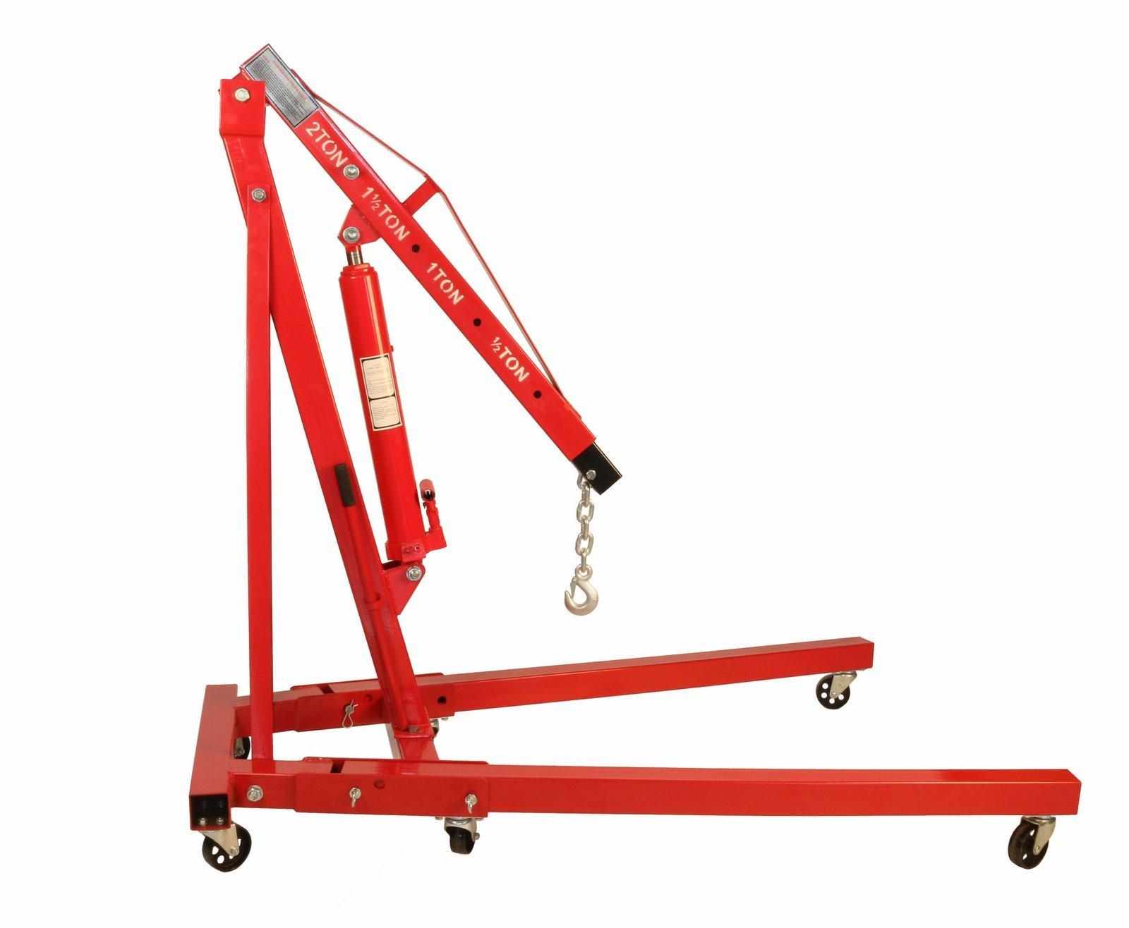 Dragway Tools 2 Ton Folding Hydraulic Engine Hoist Cherry Picker Shop Crane Hoist Lift by Dragway Tools (Image #6)