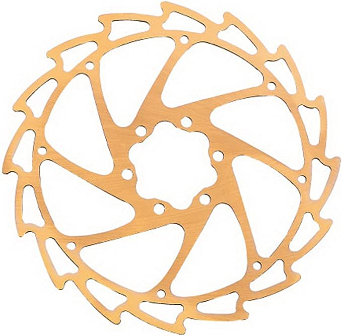 White New Alligator WIND-CUTTER windcutter Colored Disc brake rotor 180mm