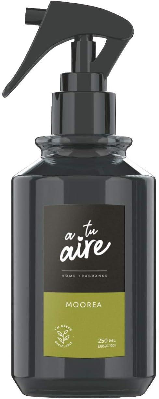 A tu aire Home FRAGANCE| Ambientador Pulverizador, | Fragancia Frutal | Perfume Moorea, |Contenido: 250 ml
