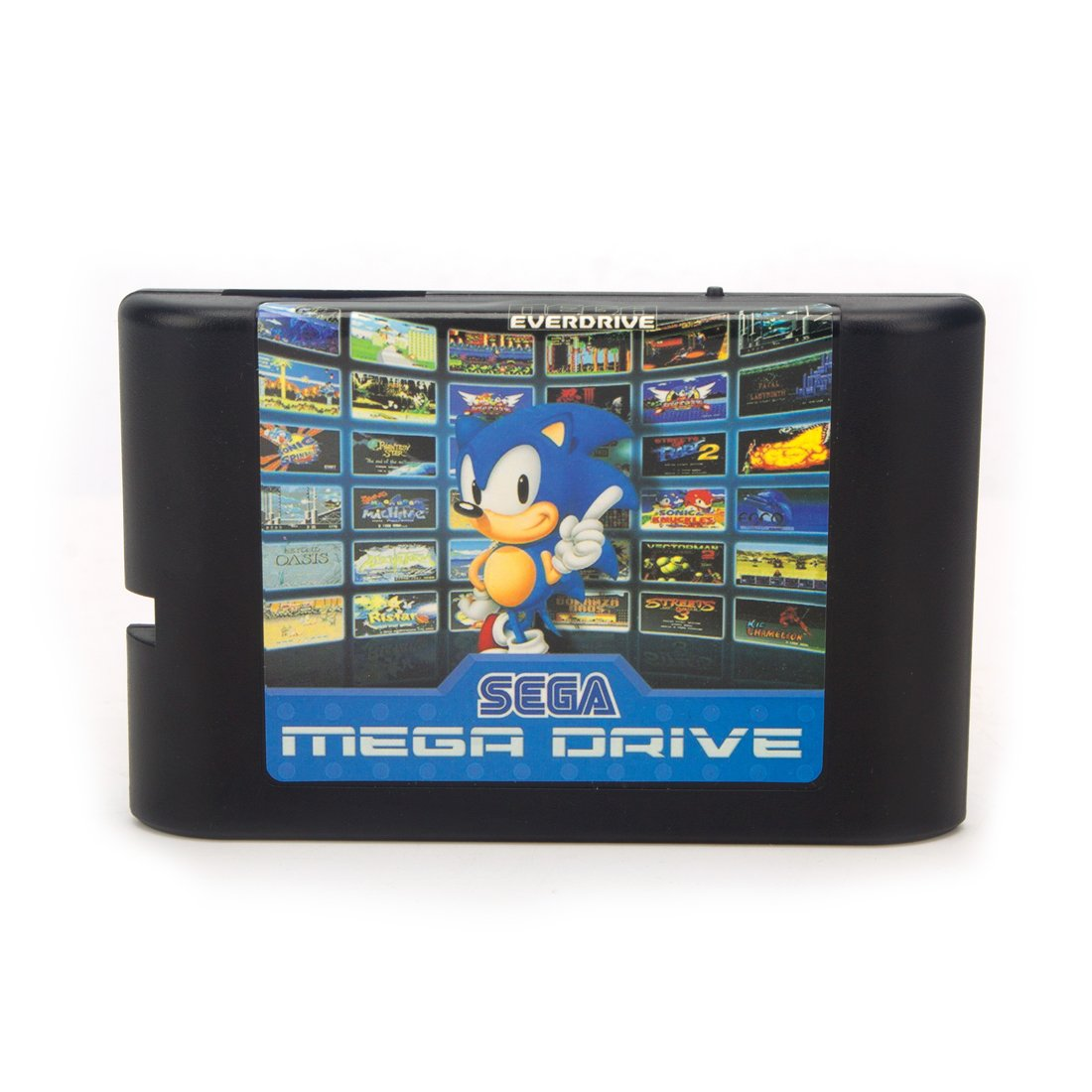 820 in 1 Game Cartridge 16 bit Game Card for Sega Mega Drive Genesis Console