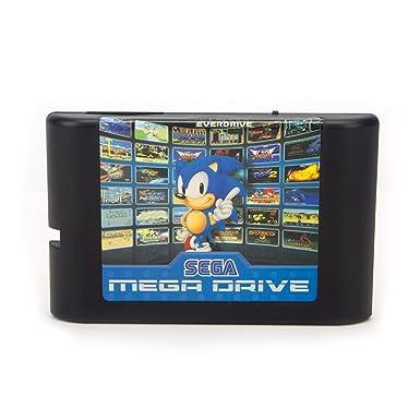 Consola De Videojuegos Sega Md 2 De 16 Bits Para Cartucho De Juego Original Sega Con Juegos Clásicos 138 En 1