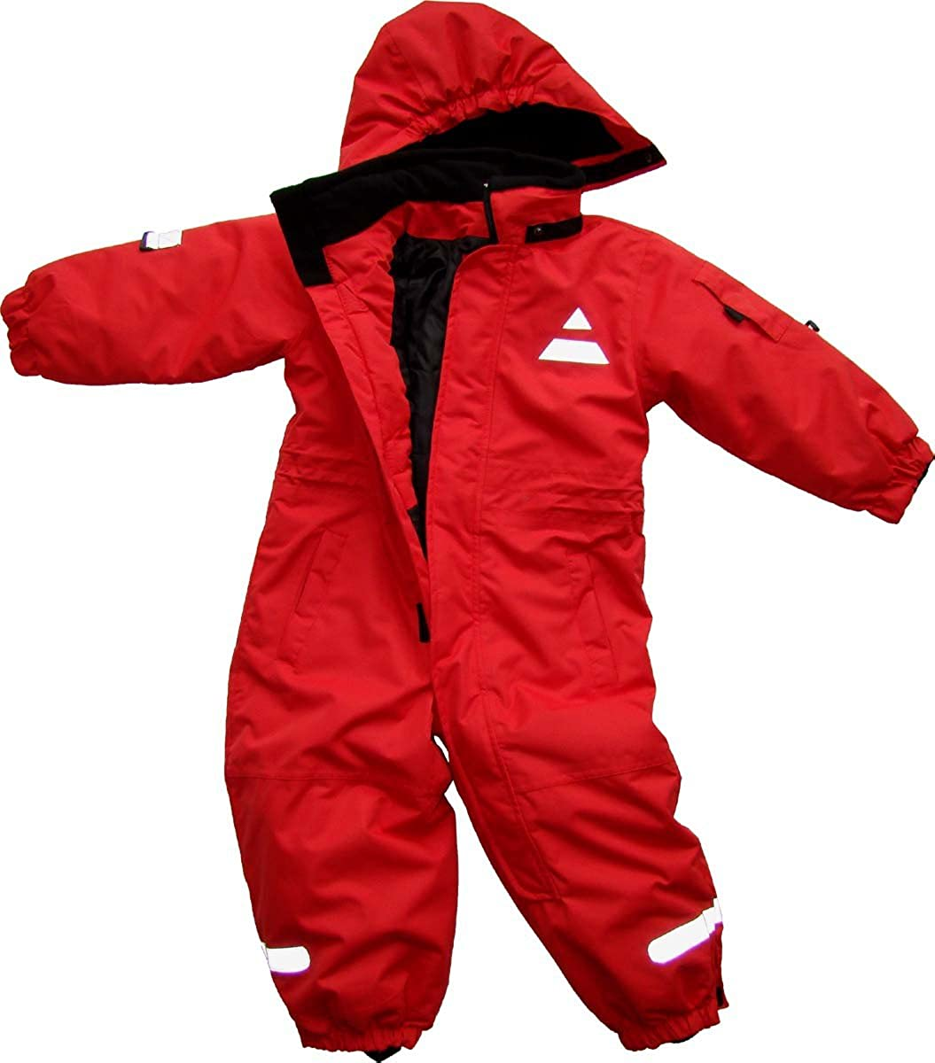 Maylynn Outdoor - Tuta da sci intera in Softshell - bebè - rosso
