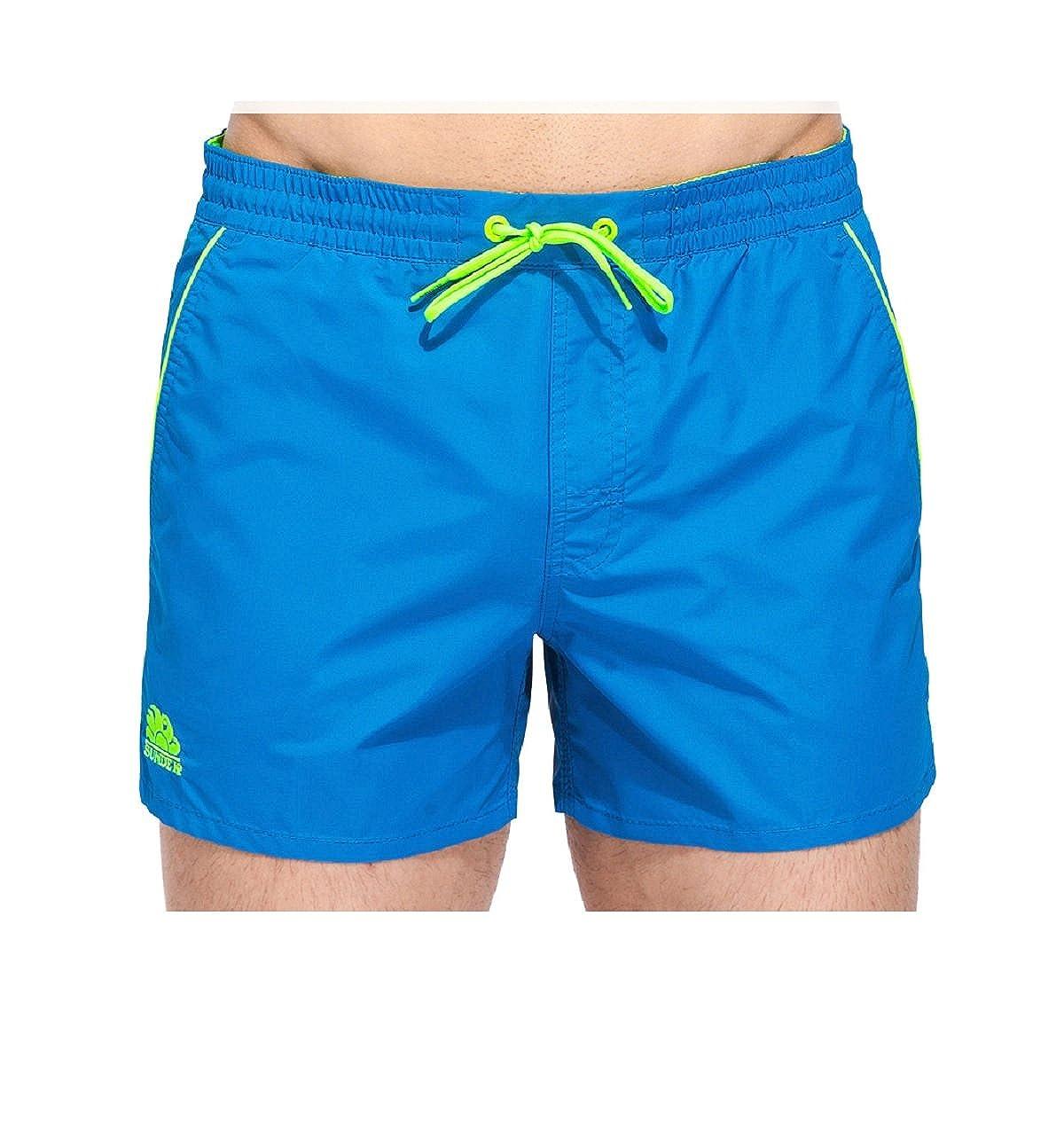 Sundek Rosco Swim Short Homme M619BDTA100 ROSCO-SEMI ELASTIC WAIST 13